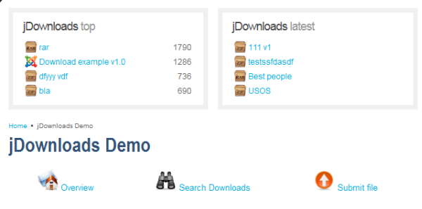 downloads demo