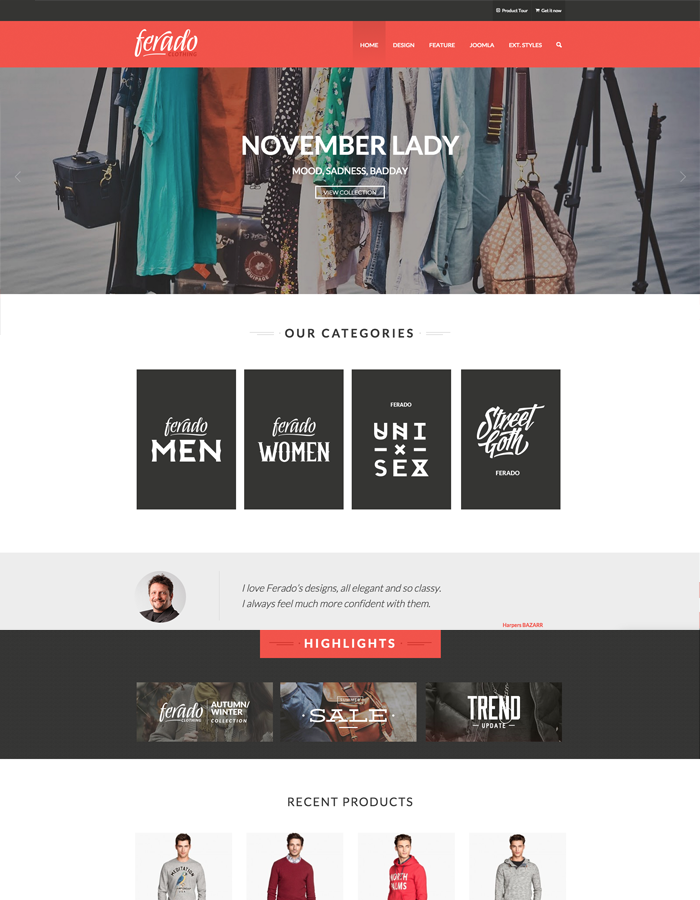 Top 5 Latest Free Stunning eCommerce Templates for Joomla 3.x ...