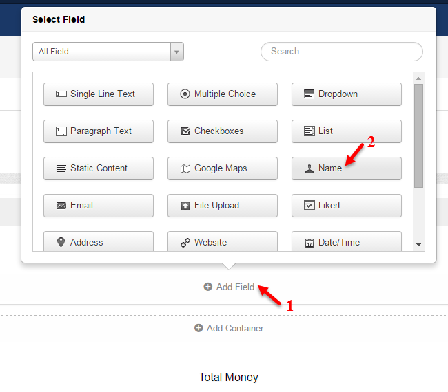 Add Name field for your Joomla payment form