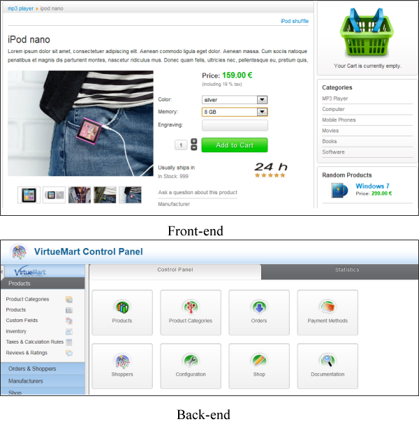 5 awesome free Joomla 2.5 shopping cart extensions - Pick one ...