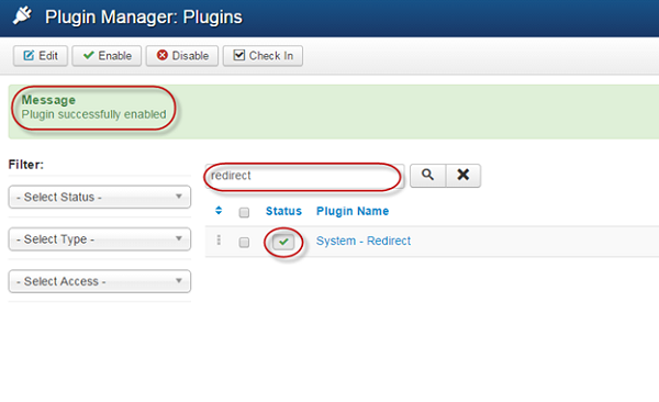 plugin enabled