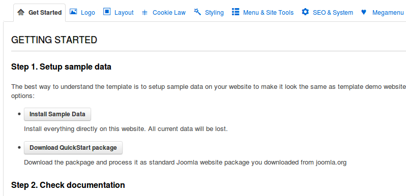How to install Sample Data for JSN Templates