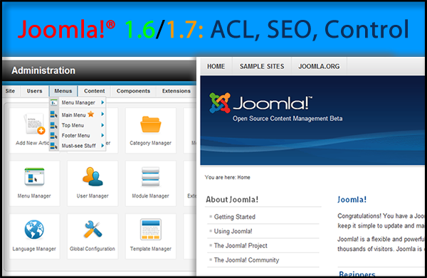 Joomla 1.7 – To learn, to join and to get inspiration