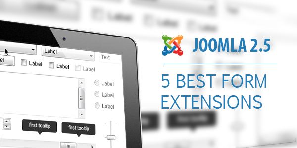 5 Joomla forms | Joomla Form Extensions