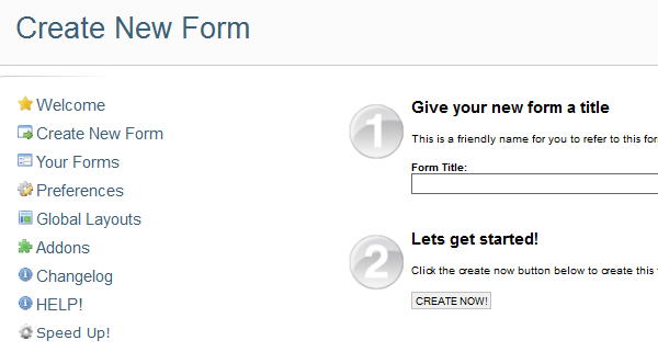 Blue Flame Form | Joomla Form Extensions