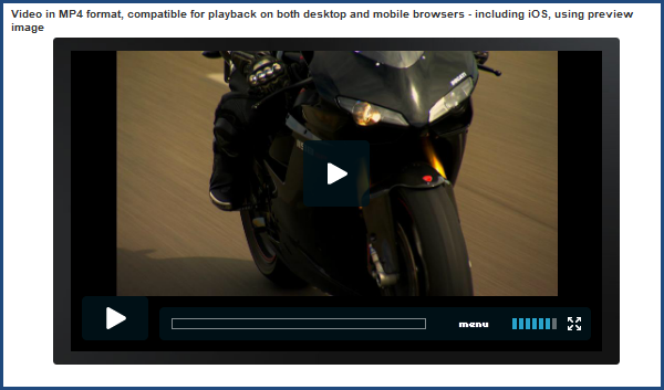 Joomla 2.5 video extension | AllVideos's screenshot