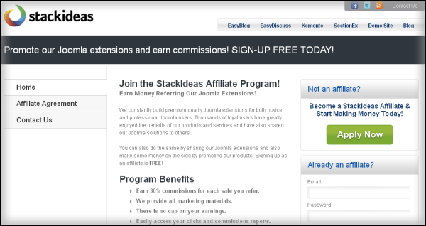 StackIdeas Affiliate Program