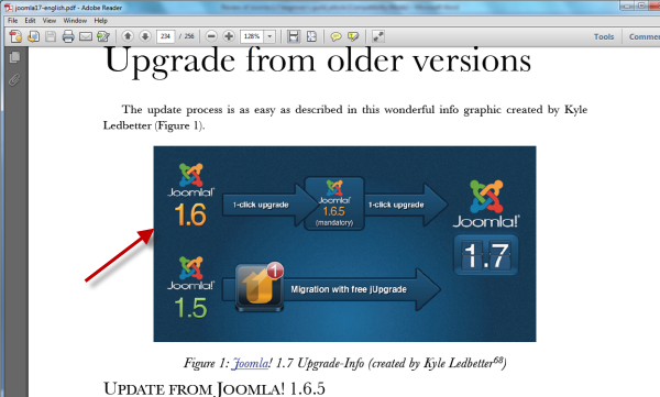 Joomla 1.7 Beginner's Guide - Upgrade version