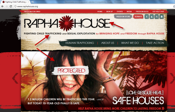 Joomla powered websites - Rapha House