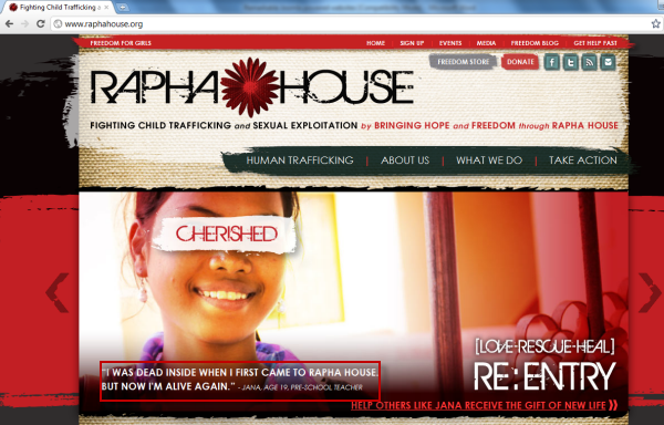 Joomla powered websites - Rapha House - Bottom