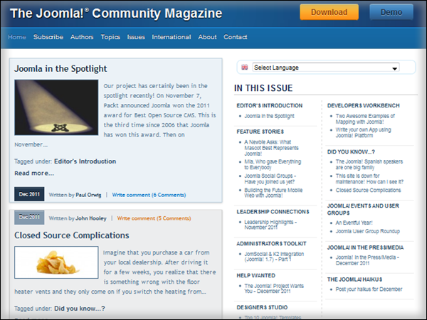 The Joomla Community Magazine