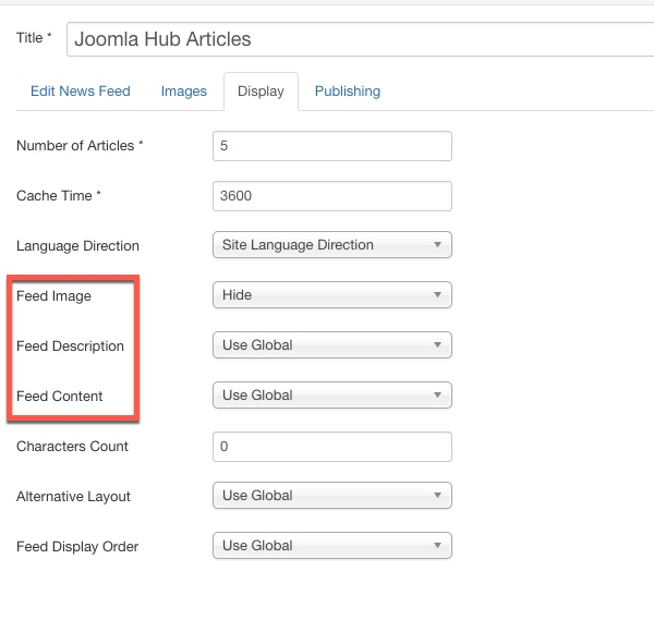 How to create RSS Feed in Joomla 3 x - JoomlaShine