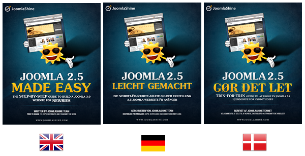 Free  ebook | Joomla 2.5 Made Easy - A pocket manual for Joomla newbies