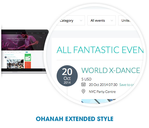 Ohanah extended style