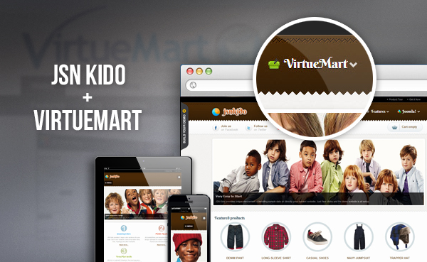 November's awesome template - JSN Kido is released!