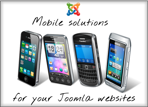 Mobile solutions for your Joomla websites