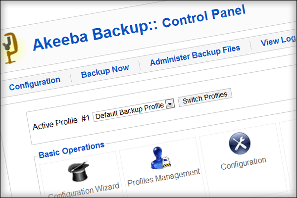 Akeeba Backup Core