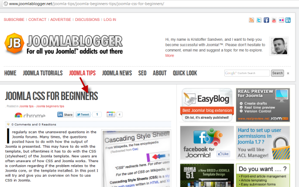 joomlablogger: Joomla CSS for beginners