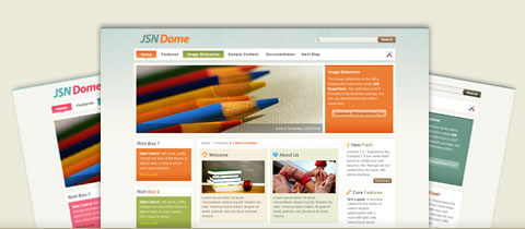 Joomla template JSN Dome