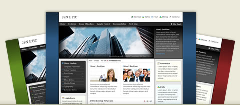 JSN Epic – Free Joomla 2.5 and 3.0 Templates