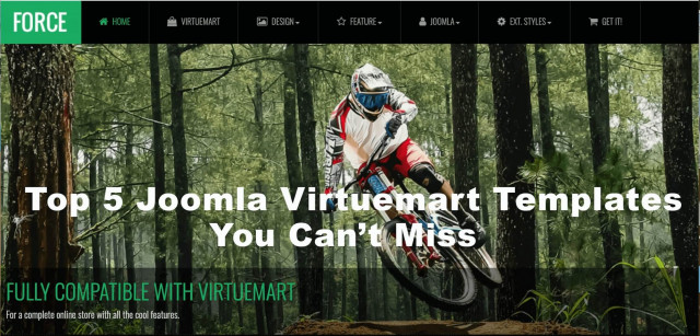 Top 5 Joomla Virtuemart Templates You Can't Miss
