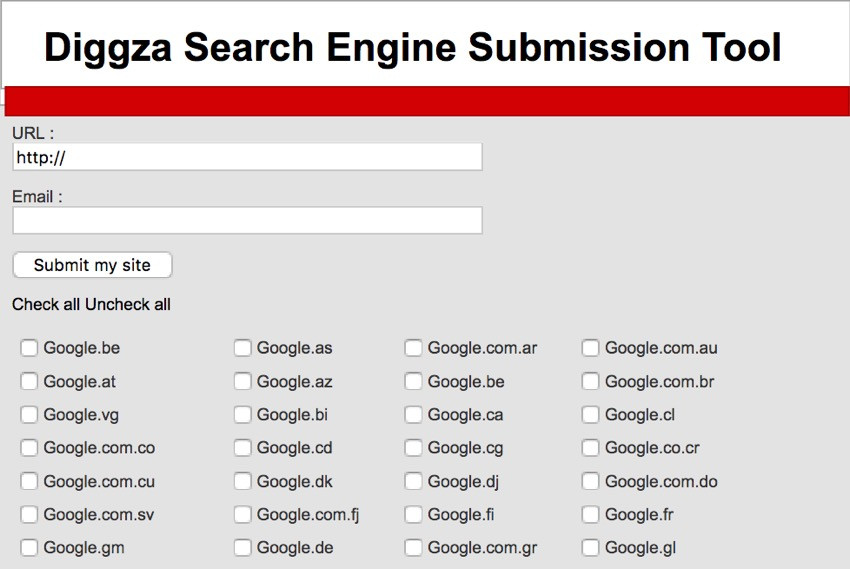 how to submit your site to search engines