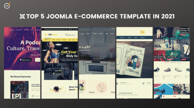 TOP 5 JOOMLA E-COMMERCE TEMPLATES IN 2021
