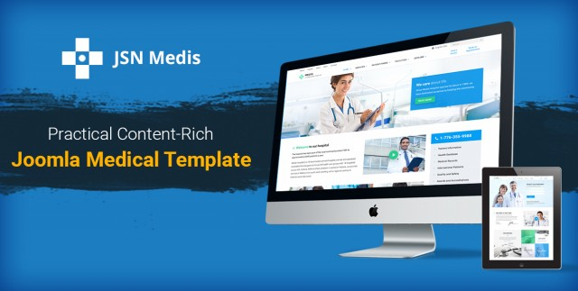 [New release] JSN MEDIS - You won't find any medical template like this elsewhere