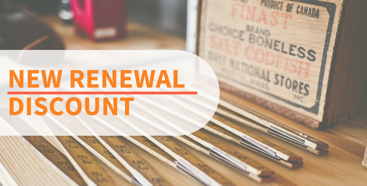 New renewal discount for JSN products from this September