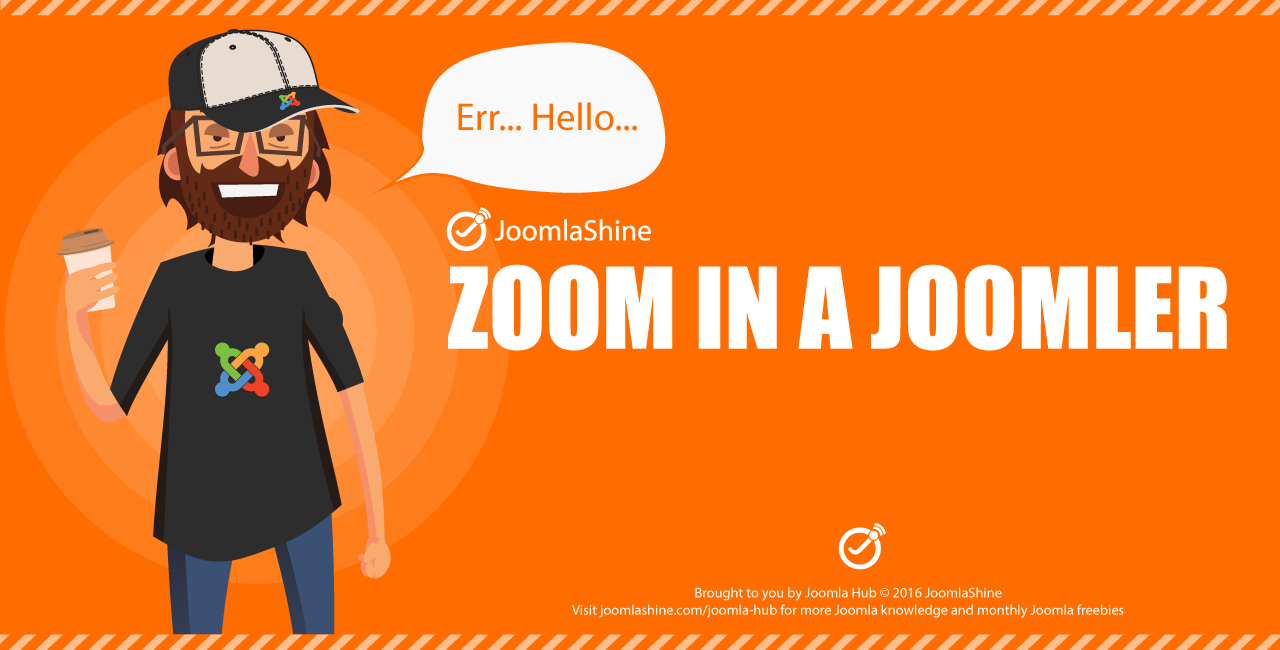 [INFOGRAPHIC] Zoom in a Joomler!