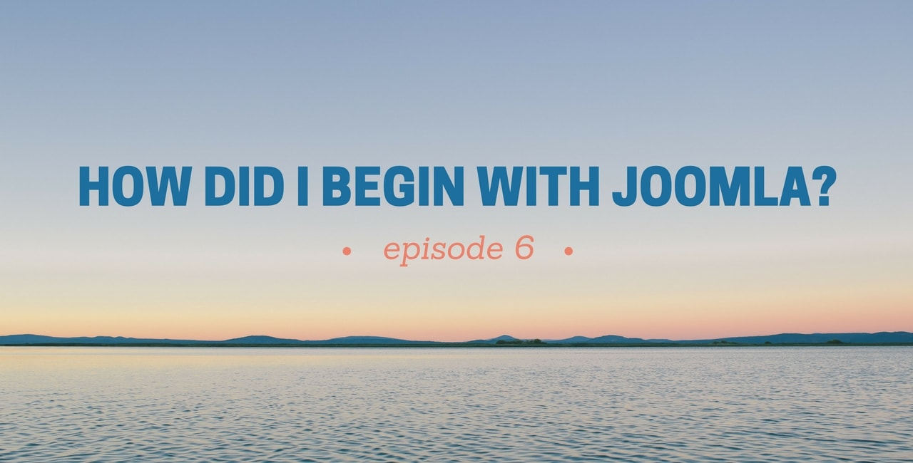 [How did I begin with Joomla] Episode 6: Meet Emerson Rocha Luiz