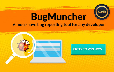 [September giveaway] Win a FREE 1-year plan of BugMuncher - the best bug reporting tool for developer