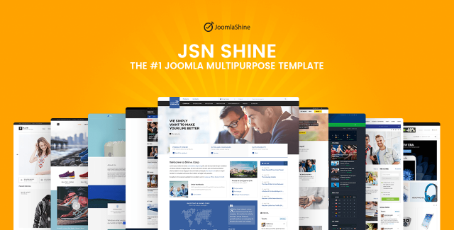 JSN Shine – The best multipurpose Joomla template you'll ever have