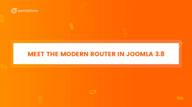 Explore The New Router in Joomla 3.8