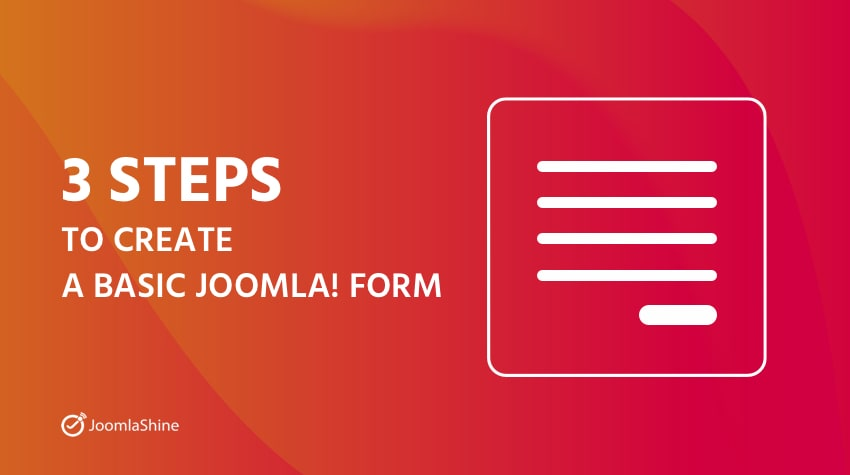 Three-steps-to-create-a-basic-Joomla-Form