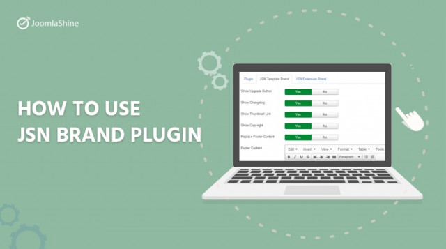 How to use JSN Brand Plugin