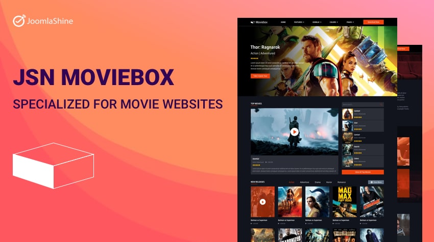 JSN Moviebox: The First And Unique Movie Template of
