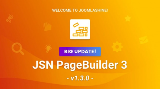 Update: JSN PageBuilder 3 Has Big Enhancements On Version 1.3.0