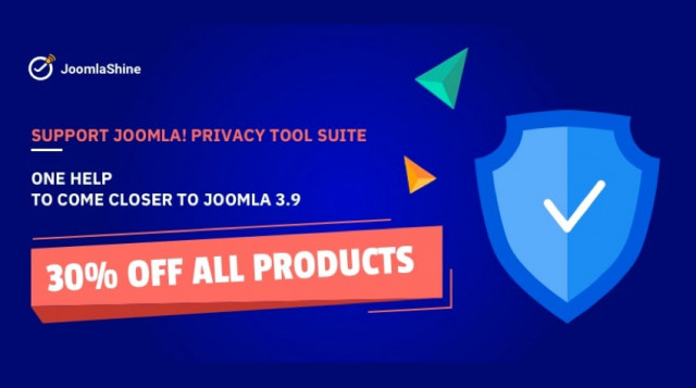 "[Updated] A quick look at the campaign ""Support Joomla! Privacy Tool Suite"""
