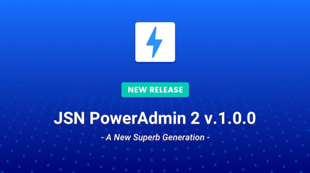 Release: JSN PowerAdmin 2 For More Effective Joomla! Users