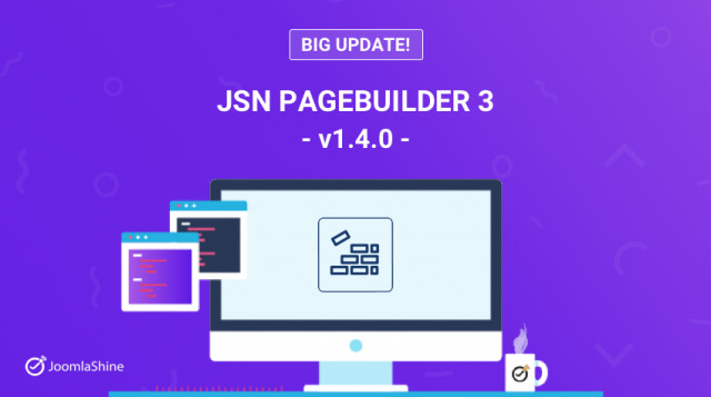 Update: JSN PageBuilder 3 v.1.4.0: Are You Ready For More Elements & Features?