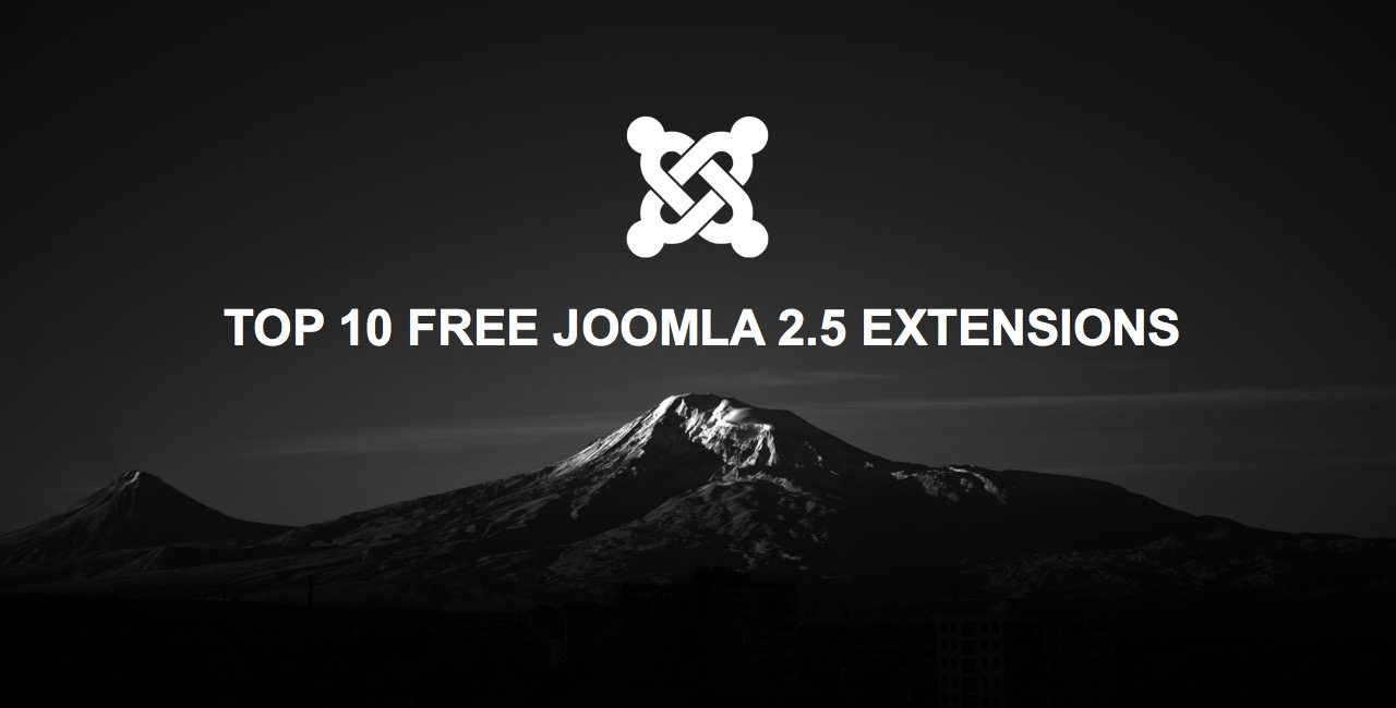 The 10 best free and popular Joomla 2.5 extensions