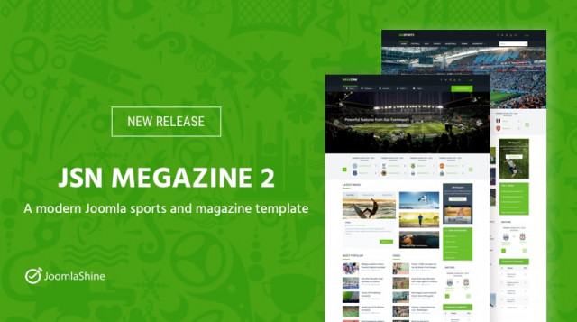 [New release] JSN Megazine 2 - A modern Joomla sports and magazine template