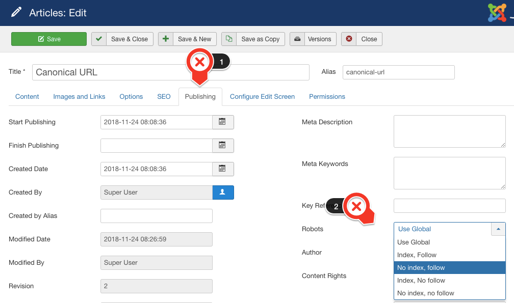 9 Dos and Don'ts when solving duplicate content in Joomla - JoomlaShine
