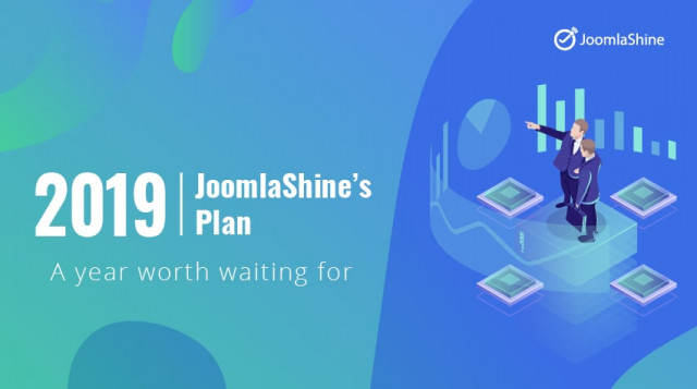 JoomlaShine's plan in 2019: A year worth waiting for
