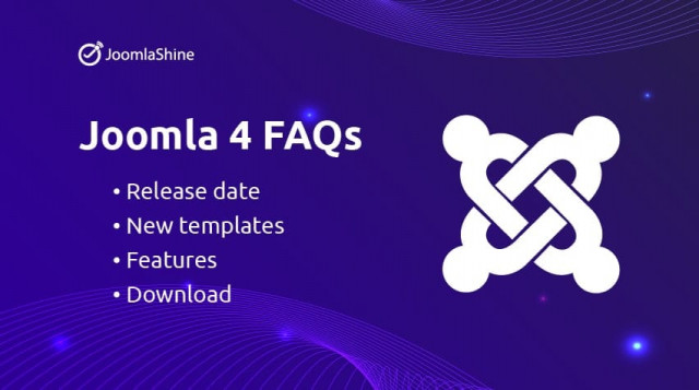 Joomla 4 - Release date, new templates, features and download