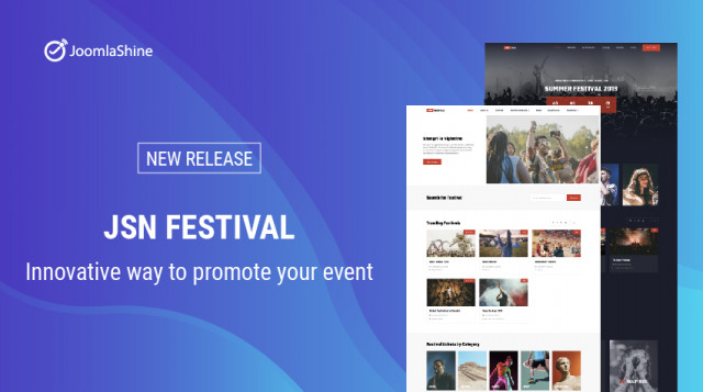 JSN Festival - Innovative way to promote your event