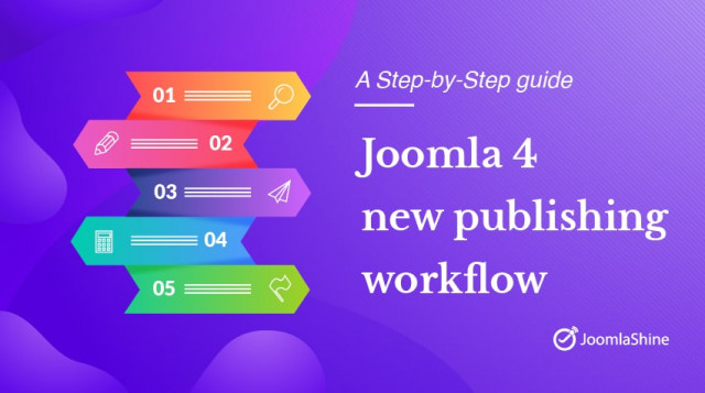 Joomla 4.0 new publishing workflow feature - A step-by-step guide