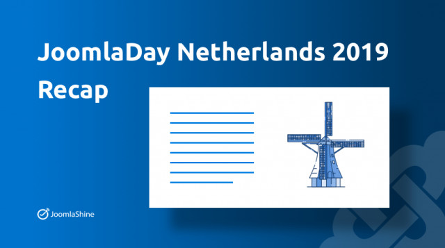 JoomlaDay Netherlands 2019 - Recap