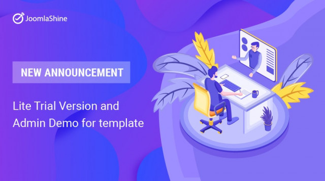 [New Announcement] Introducing Lite Trial Version & Admin Demo for template